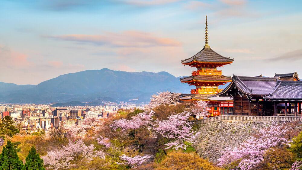 Les couteaux de cuisine japonais viennent essentiellement de la région de Kyoto.