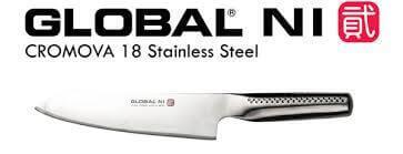 Image de la marque Global et d'un modèle de couteau japonais