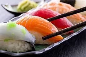 photo de sushis, le plat japonais le plus connu dans le monde.