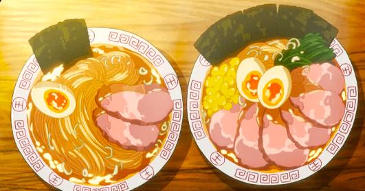 Les ramen sont un plat nippon très populaire. En voici sous forme de plat d'animé japonais.