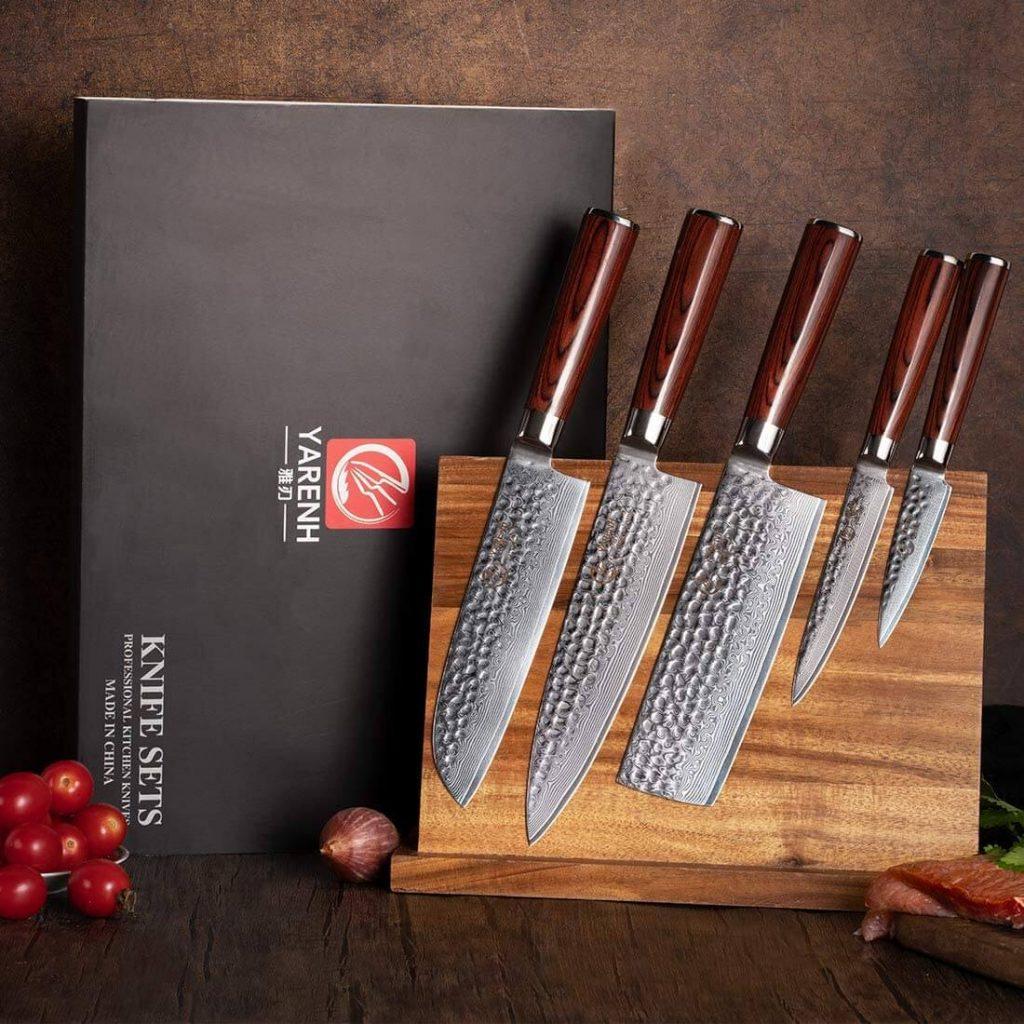 Image du set couteau japonais que nous vous présentons